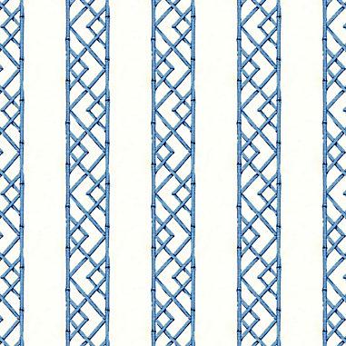 Reva Blue Fabric by the Yard