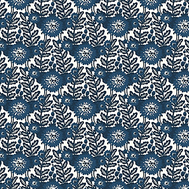 Marival Blue Fabric By The Yard