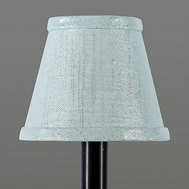 Metallic Linen Shade