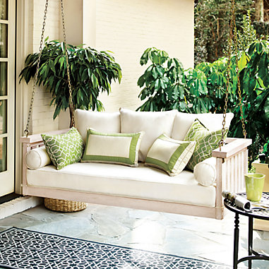 Sunday Porch Swing with Cushions