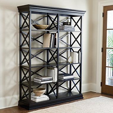 Bourdonnais Double Bookcase - Tall
