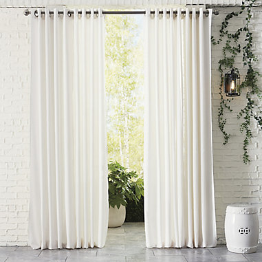 Ballard Indoor/Outdoor Sheer Panel