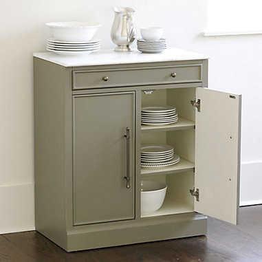 Paulette Display Cabinets And Servers, Kitchen Pantry Cabinet Ballard Designs