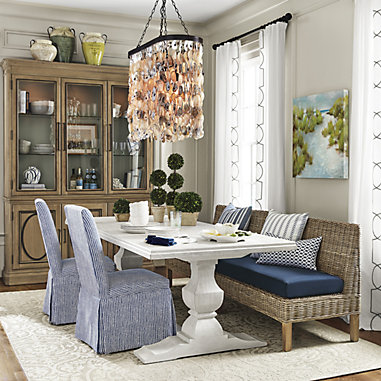 Andrews Double Pedestal Table