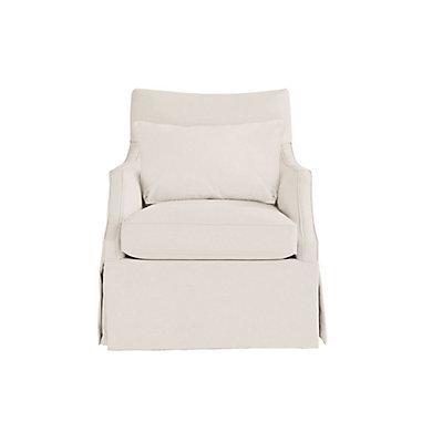 Larkin Upholstered Swivel Glider