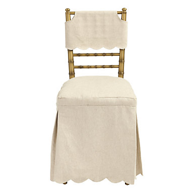 Bunny Williams Ballroom Folding Chair Slipcover