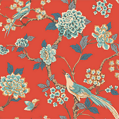 Chinoiserie Garden Wallpaper