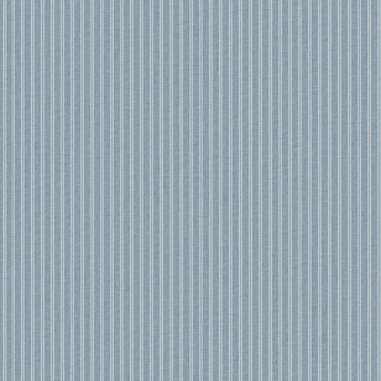 Blue Ticking Stripe Wallpaper