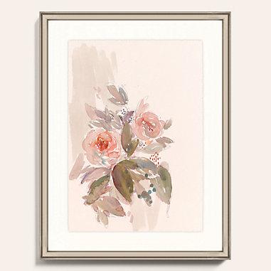 Watercolor Bouquet Art