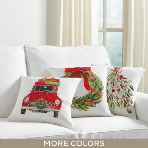 Christmas Pillows Rugs Ballard Designs