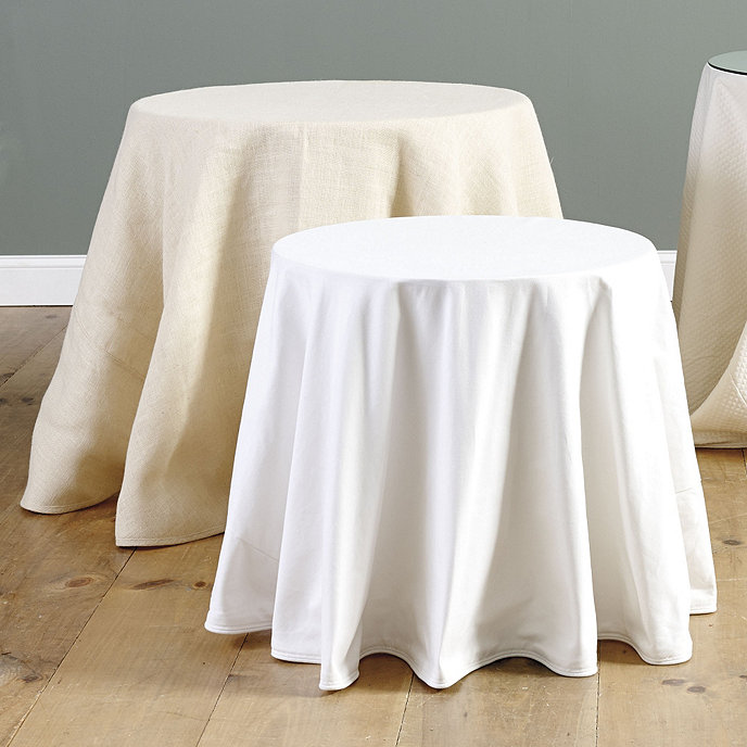 Basic Duo With Table Amp Ballard Essential Tablecloth