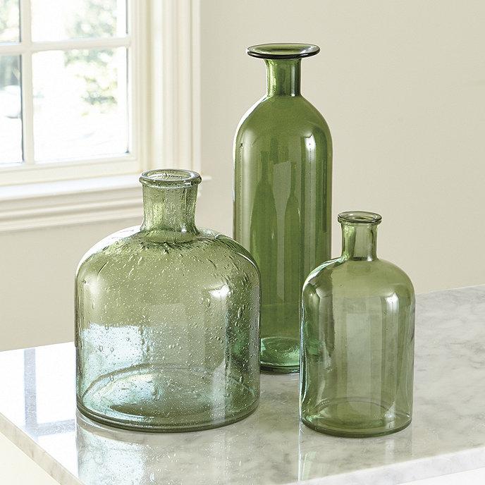 Kara Colored Glass Collection Set Of 3 Ballard Designs