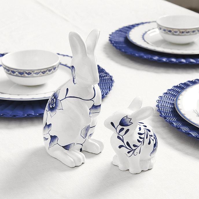 Chinoiserie Bunny Figure  home decor image