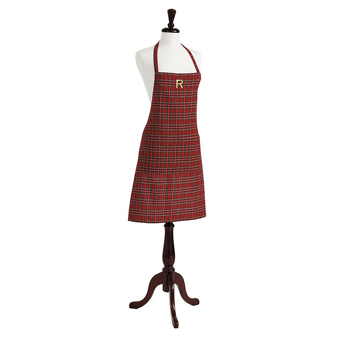 Suzanne Kasler Holiday Plaid Apron