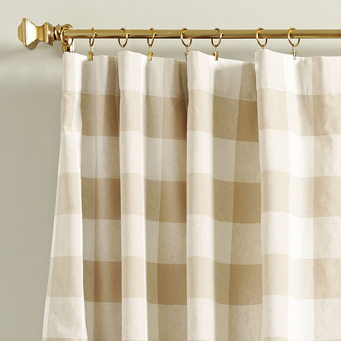 Buffalo Check Curtains