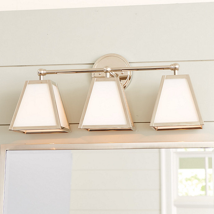 Moving Bathroom Vanity Light: Amelie Vanity Triple Sconce Lighting