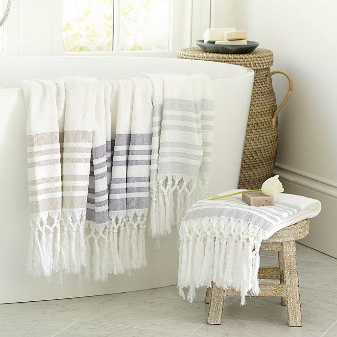 Turkish Bath Towel | Ballard Designs