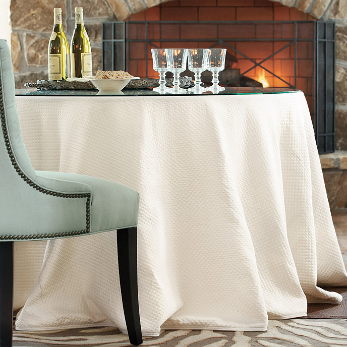 Custom Party Tablecloth 108 Quot Round Ballard Designs