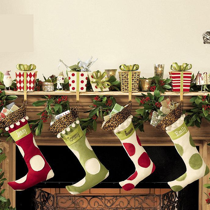 Gift Box Stocking Holder Ballard Designs