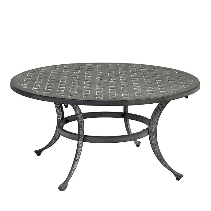 "Table Round Industrial Coffee Table Gratifying Ballard: Maison 36"" Round Coffee Table"