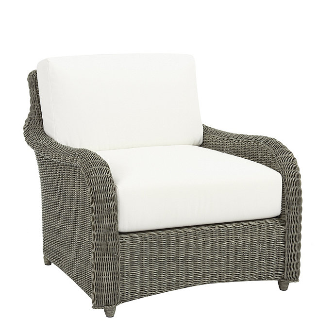 Suzanne Kasler Versailles Lounge Chair With Cushions