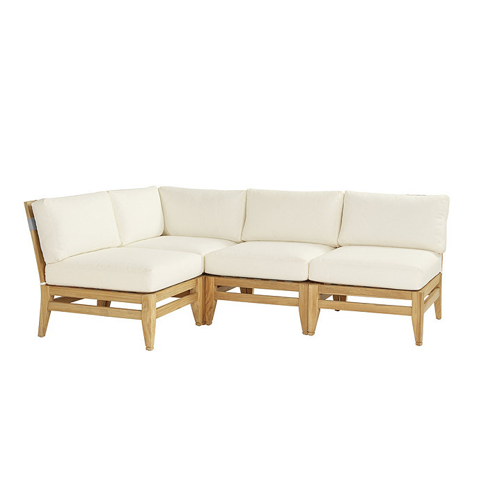 Del Mar 4-Piece Sectional