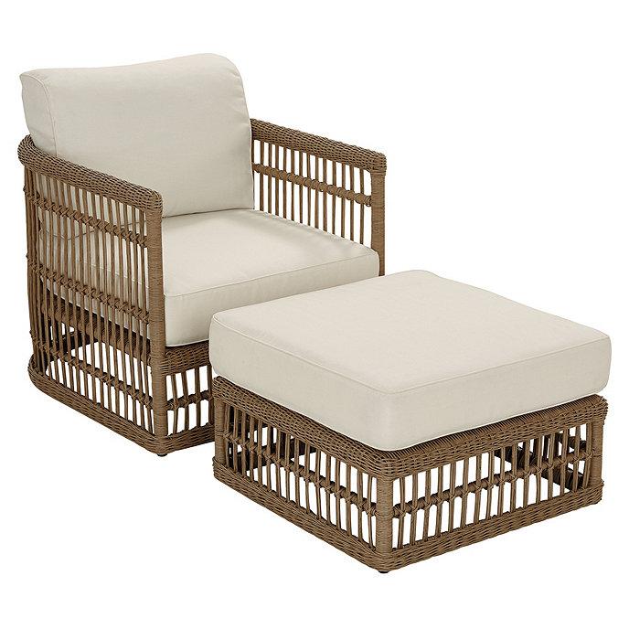 Suzanne Kasler Harbour Lounge Chair & Ottoman