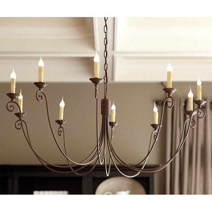 Cosette 10 light chandelier ballard designs cosette 10 light chandelier aloadofball Choice Image