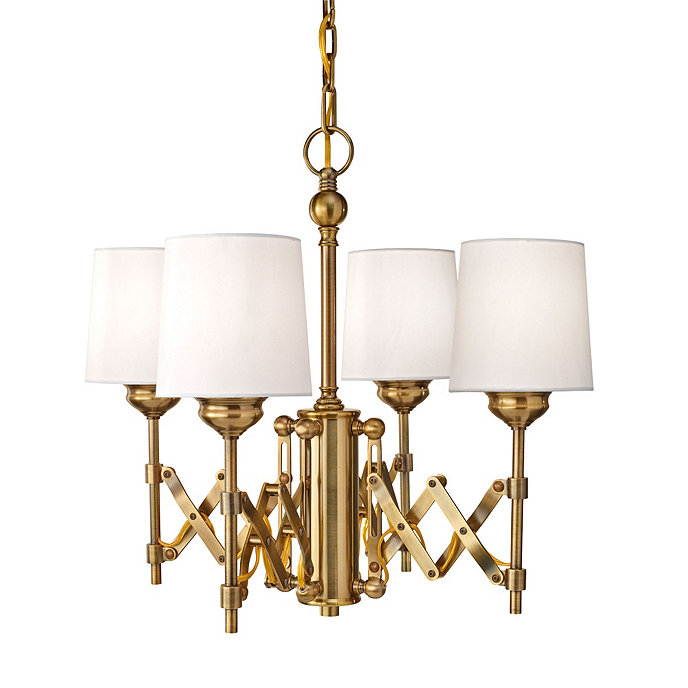 Ramona 4 Light Chandelier Ballard Designs