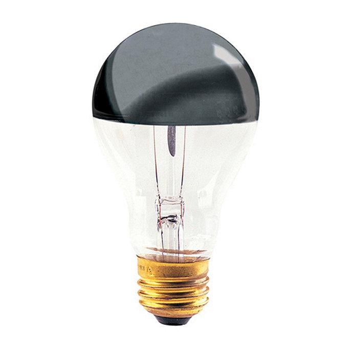 Set Of 6 Half Chrome Light Bulb Ballard Designs