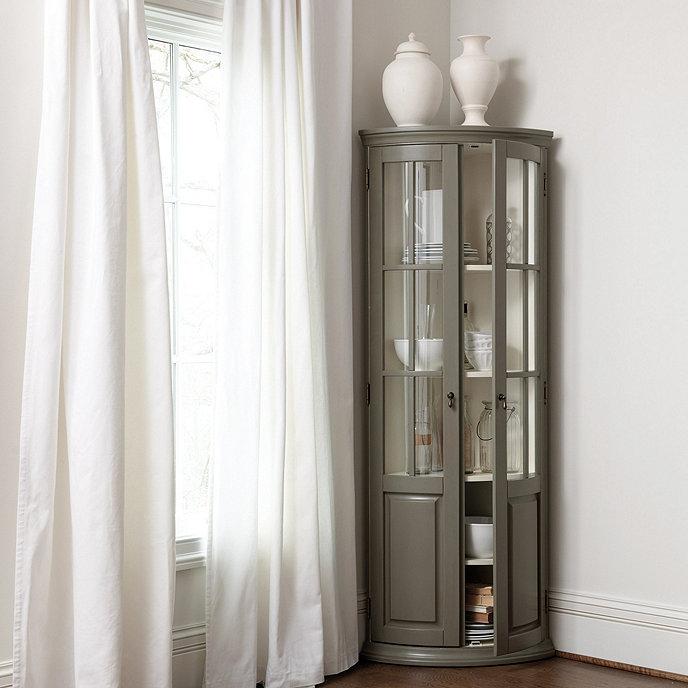 Chilton Curved Corner Cabinet