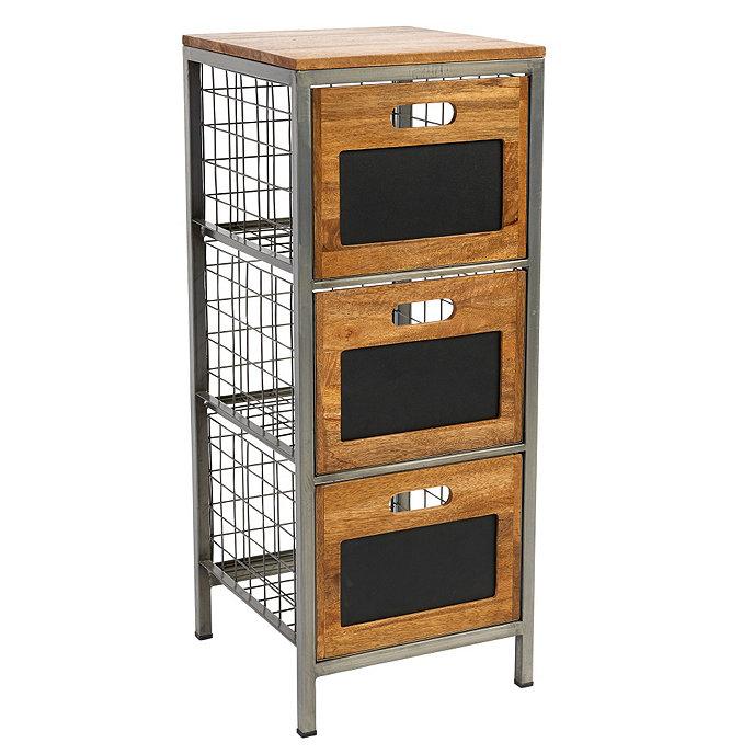 Cambridge Cabinet Door Style: Cambridge 3-Drawer Storage Cabinet