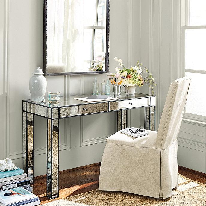 Marley Mirrored Desk