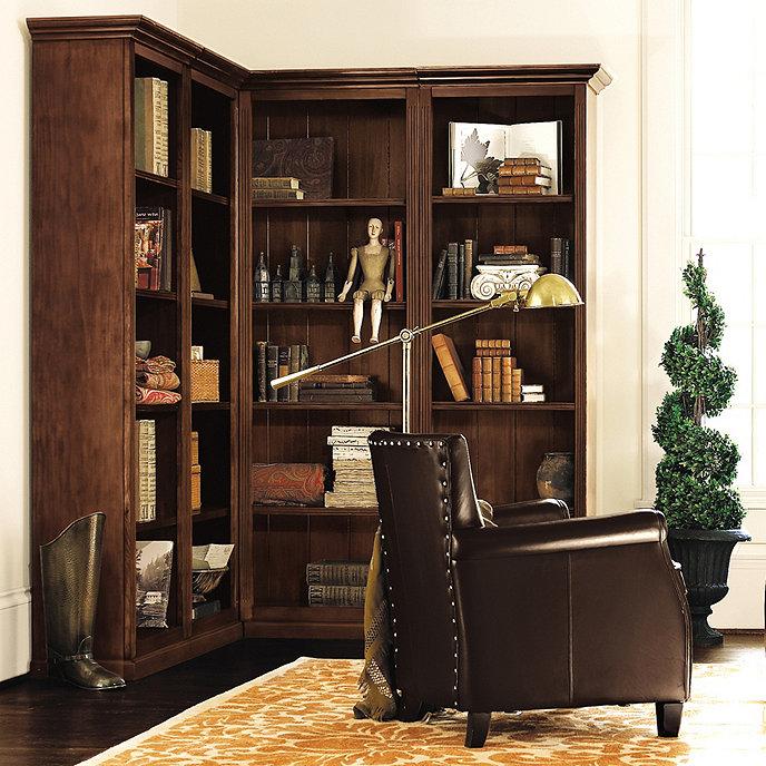 5 Piece Corner Bookcase Set Ballard Designs