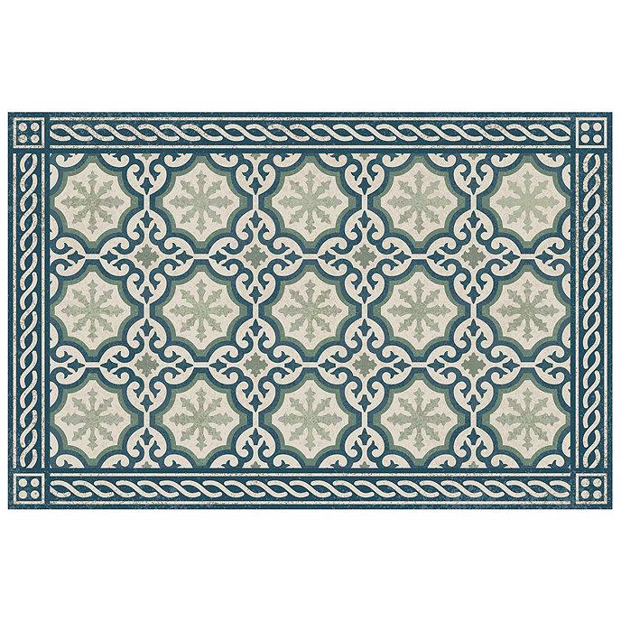 Moroccan Design Plastic Floor Mat