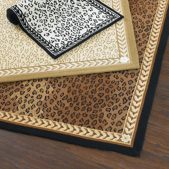 Leopard Vine Rug Ballard Designs