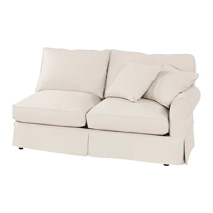 Awesome Baldwin Right Arm Loveseat Slipcover Special Order Fabrics Machost Co Dining Chair Design Ideas Machostcouk