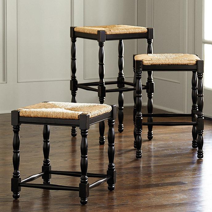 Ballard Design Kitchen Chairs: Dorchester Chair Height Stools