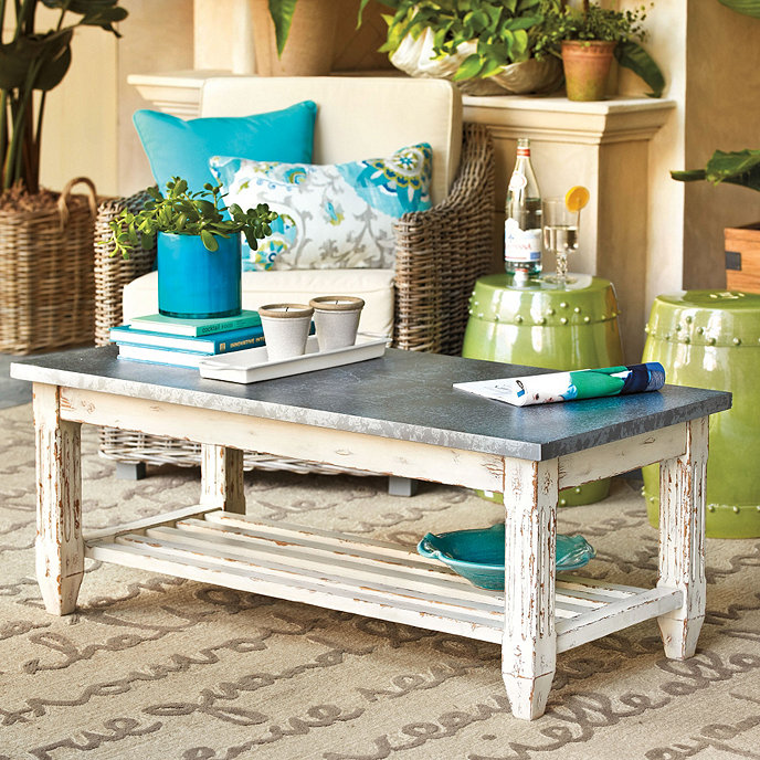 Messina Coffee Table Ballard Designs