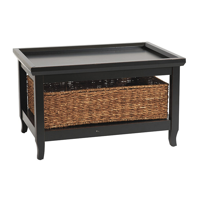 Small Morgan Cocktail Table With Baskets