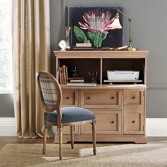Ballard Designs Oval Back Louis XVI Side Chair
