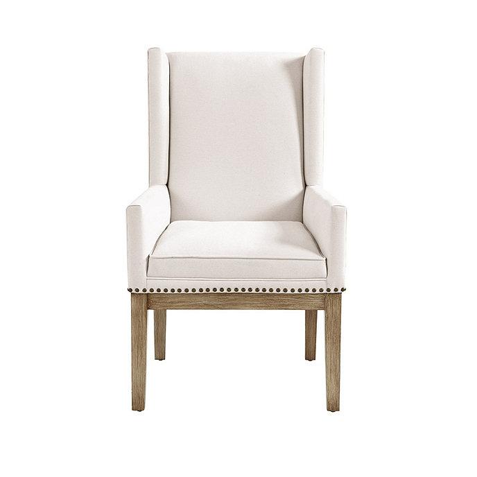 Ballard Design Kitchen Chairs: Marlene Dining Chair With Brass Nailheads