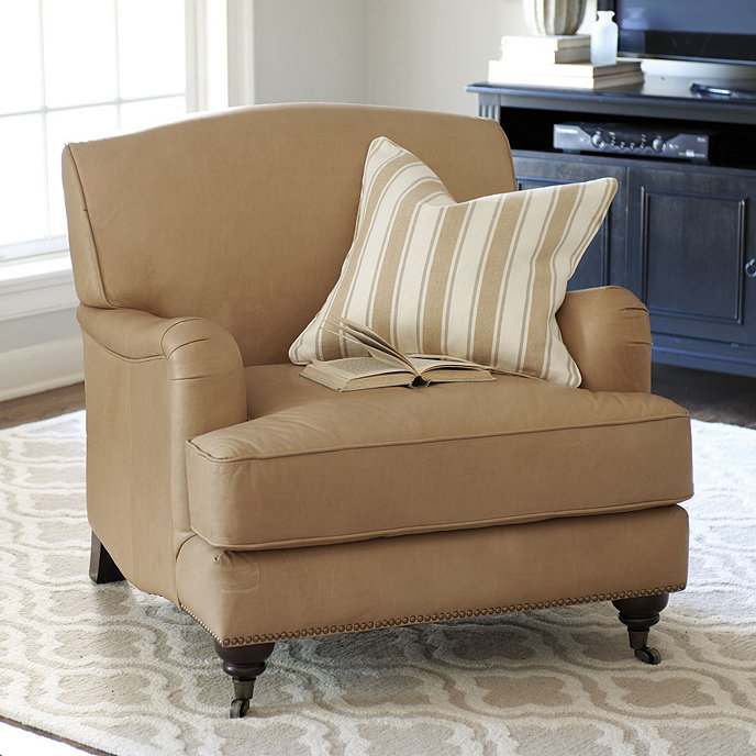 Burton Leather Sofa: Burton Leather Chair