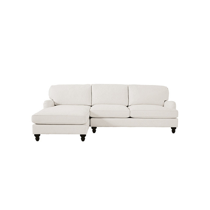 Eton Upholstered 2 Piece Sectional With Right Arm