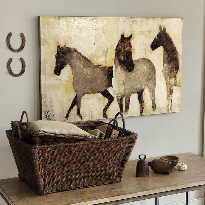 Horses At Rest Giclee Print
