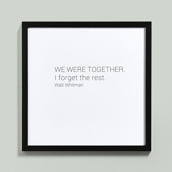 We Were Together Art Ballard Designs