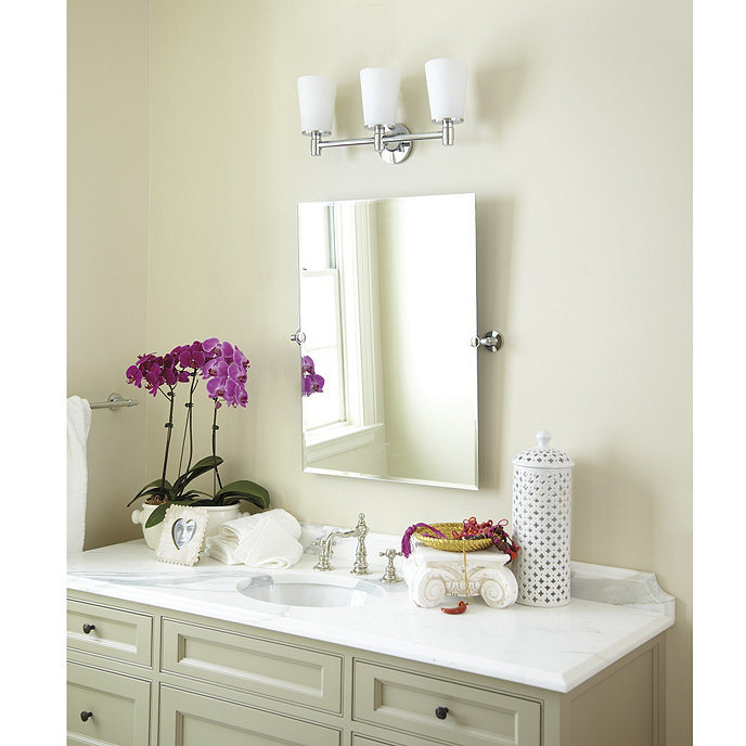 Logan Tilting Bath Mirror | Ballard Designs