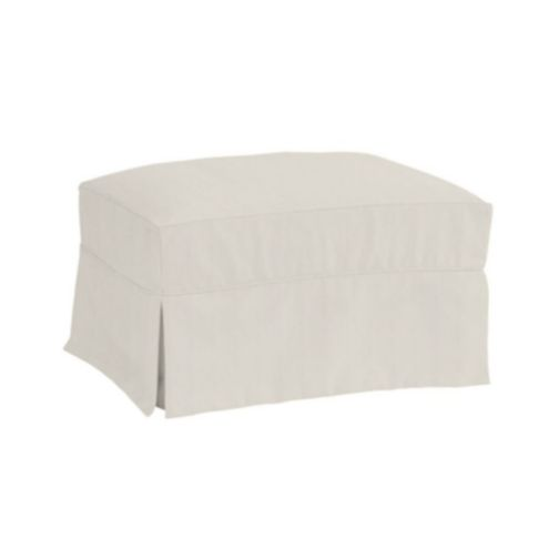 Davenport Ottoman Slipcover Only - Stocked Select Options
