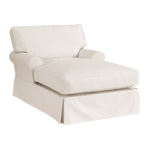 Davenport Chaise Slipcover - Stocked