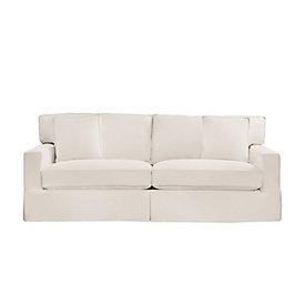 baldwin queen sleeper sofa slipcover and frame ballard designs rh ballarddesigns com Patterned Slipcovers for Sofa Sleepers Sleeper Sofa Covers
